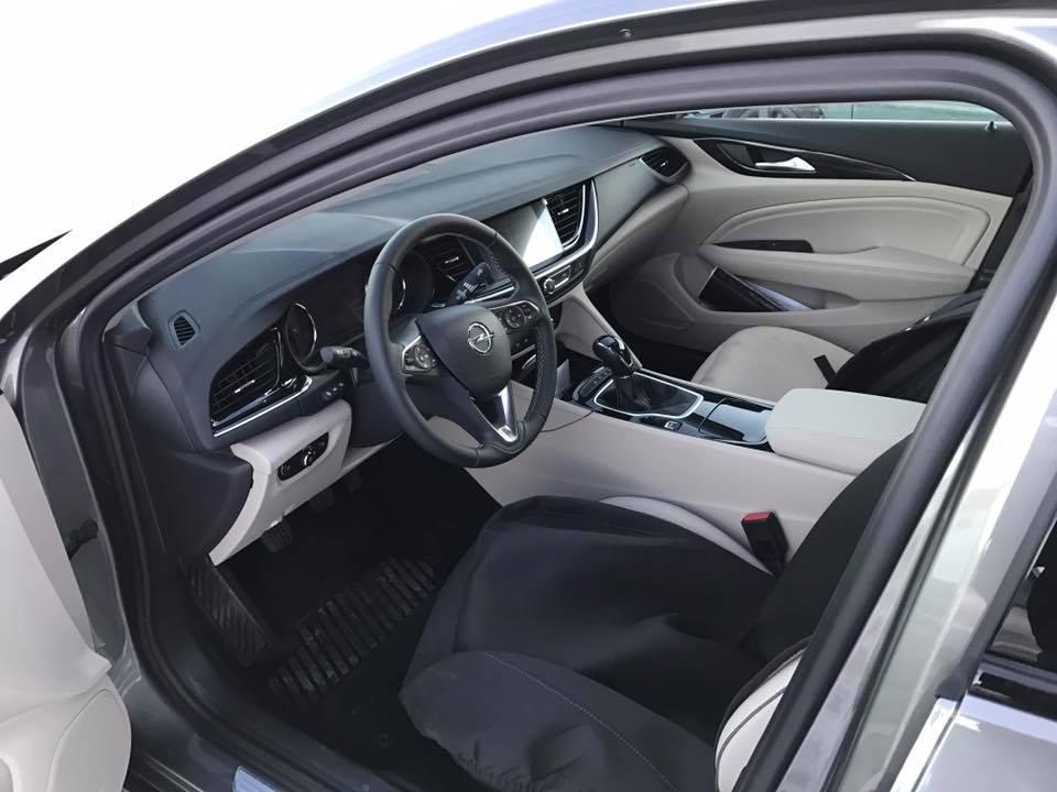 Turbo Opel Grand Insignia 2018 Commodore Spotted In