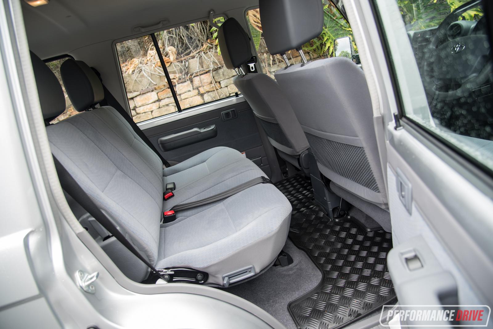 2017 Toyota Land Cruiser Towing Capacity >> 2017 Toyota LandCruiser 70 Series GXL wagon review (video) | PerformanceDrive