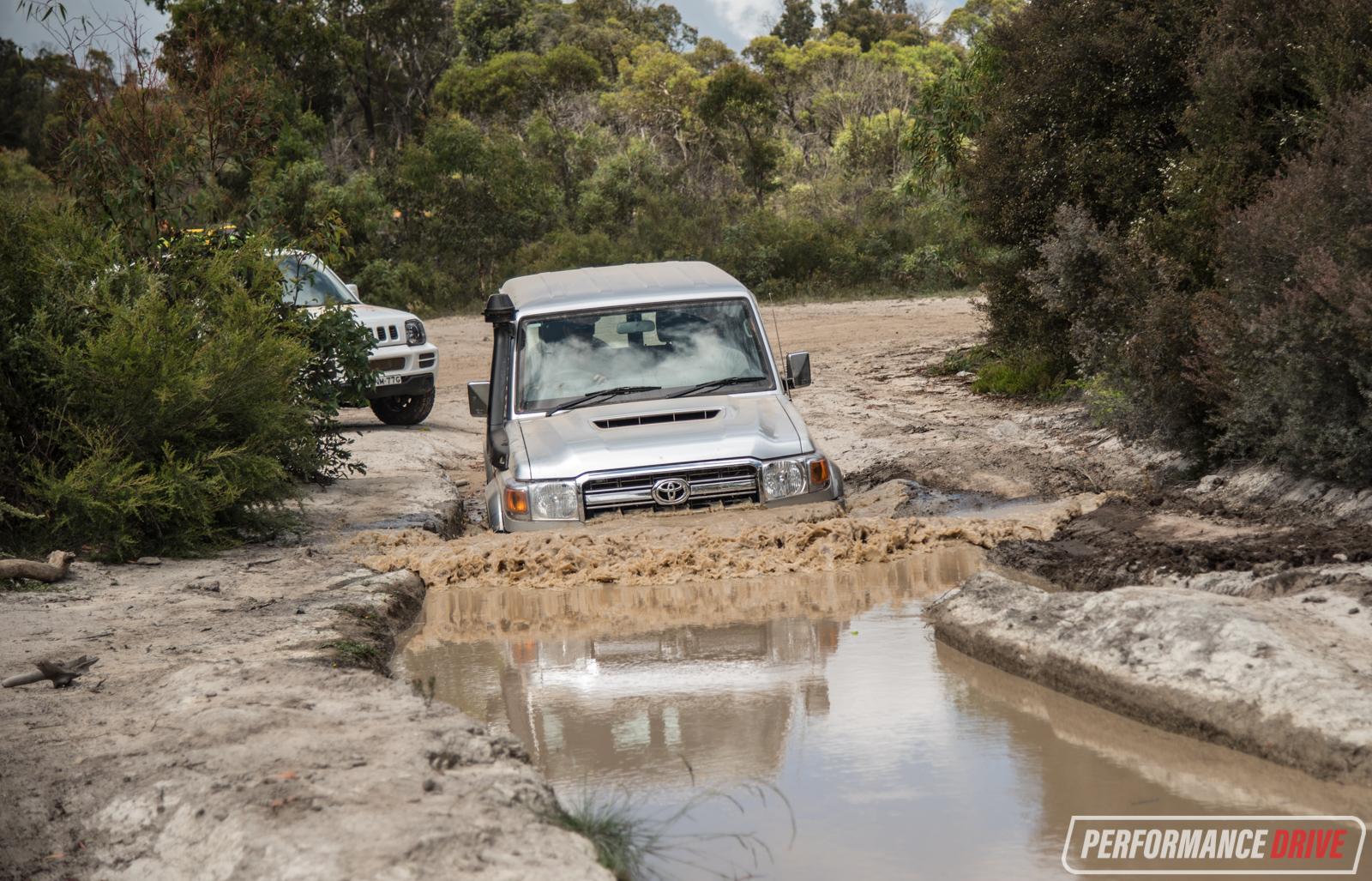 2017 Toyota Landcruiser 70 Series Gxl Wagon Review Video Land Cruiser Water Wade