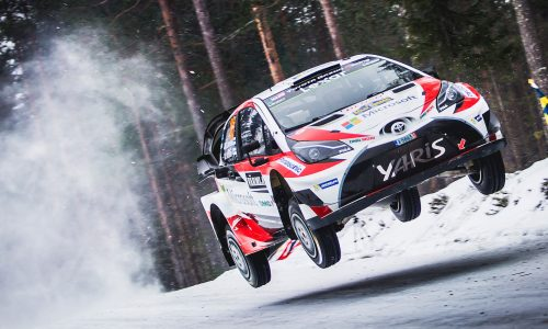 Toyota wins 2017 Rally Sweden, first WRC win since 1999