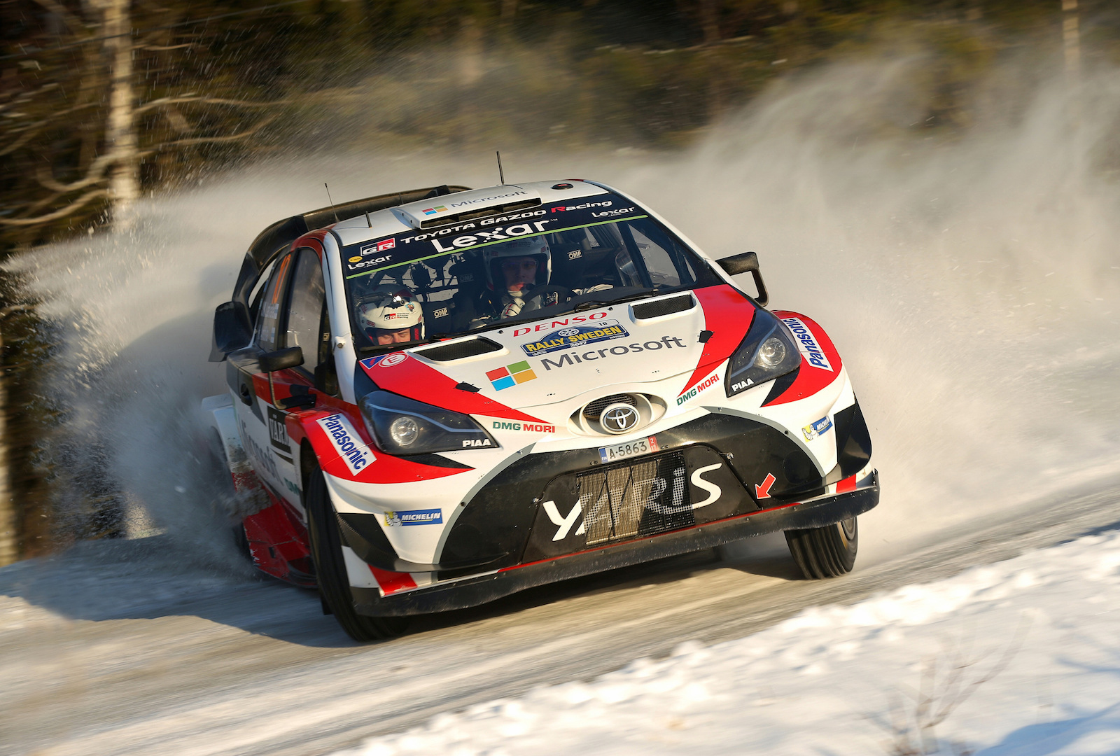 Toyota Wins 2017 Rally Sweden First Wrc Win Since 1999