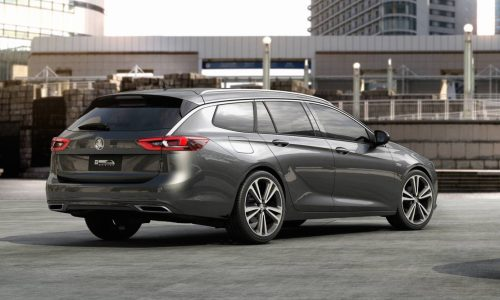 2018 Holden Commodore Sportwagon officially revealed