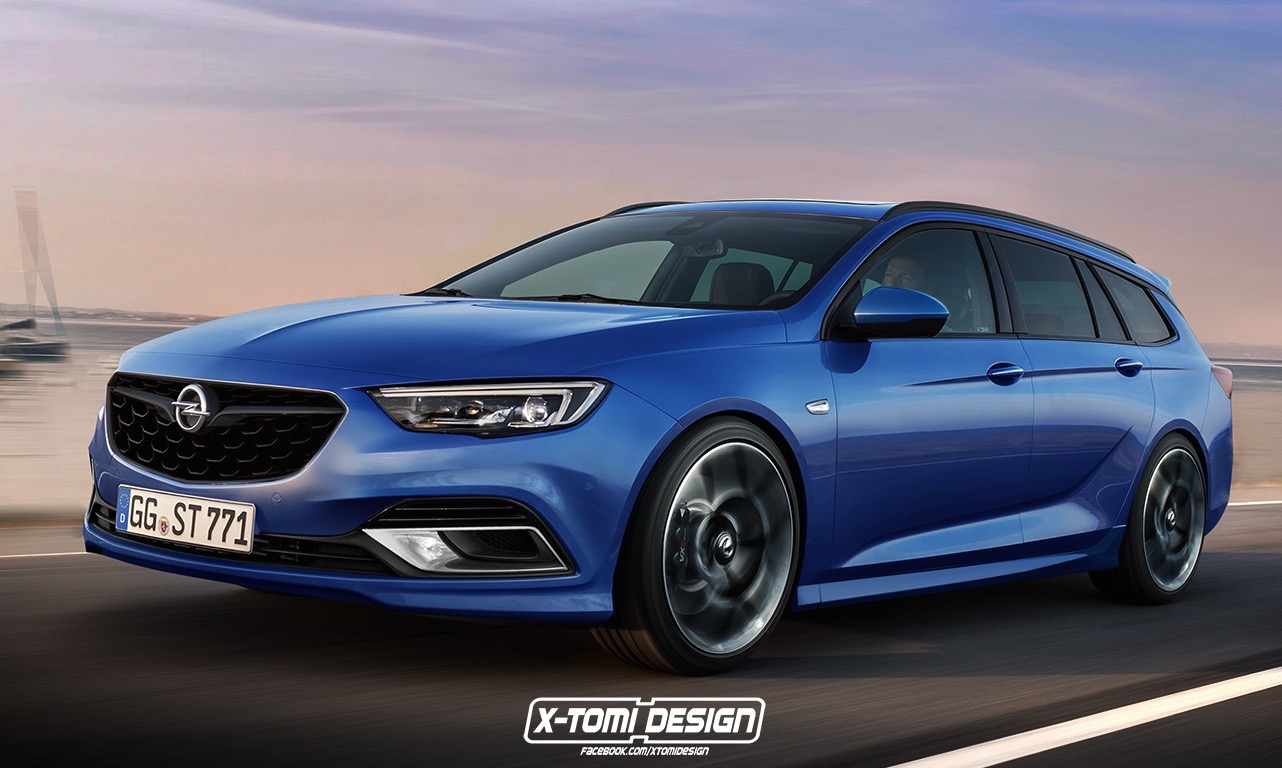2017 Opel Insignia Opc Commodore Ss Sportwagon Rendered