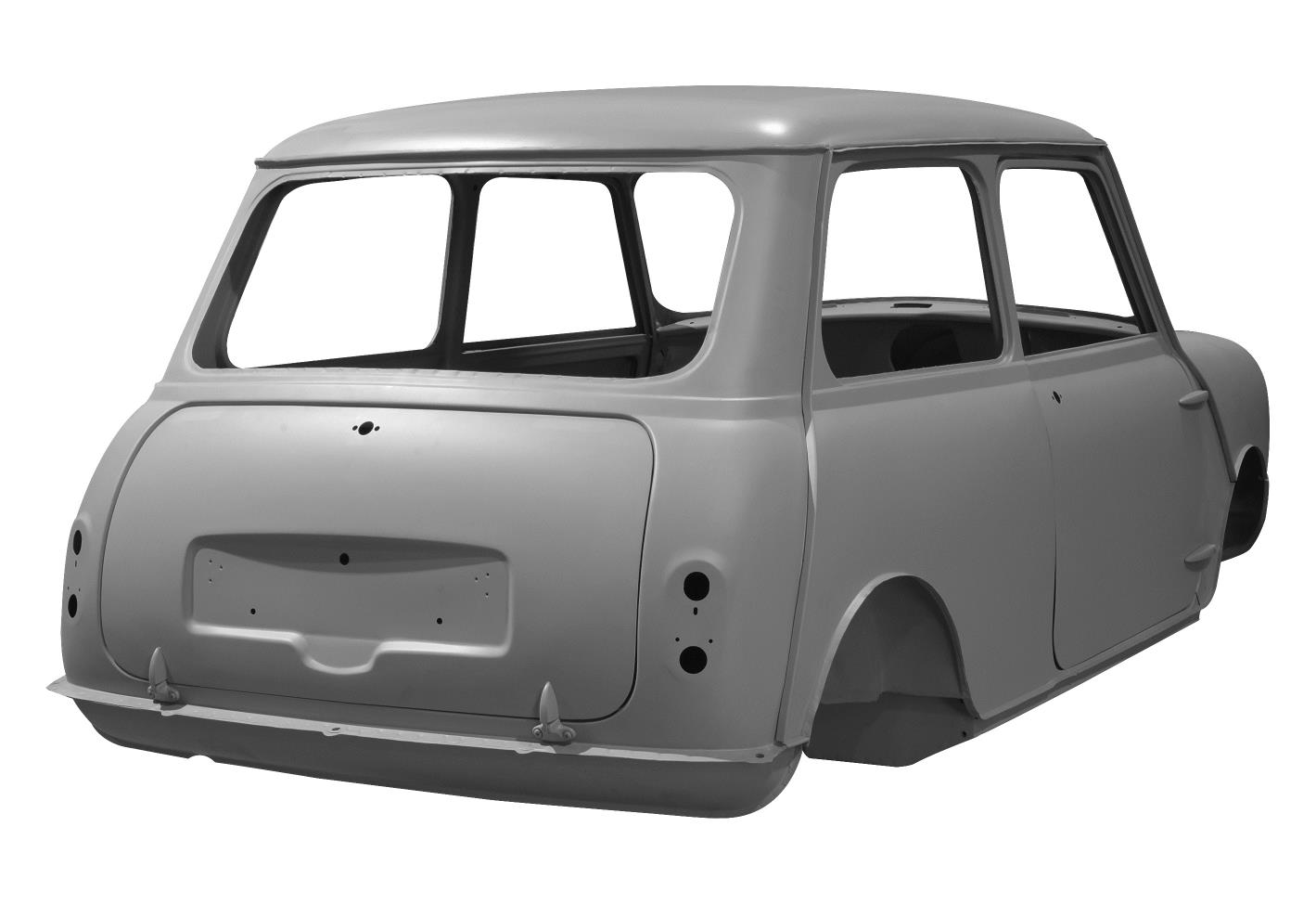 Classic Mini Cooper Body Shells Being Reproduced For Fans