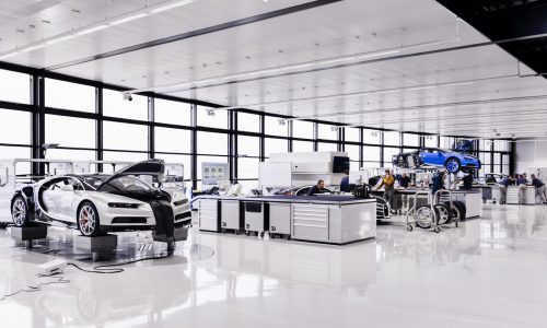 Bugatti Chiron production well underway, deliveries commence Q1