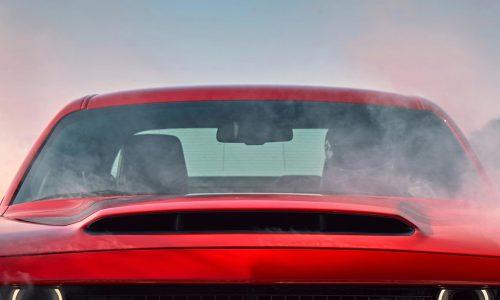 Dodge Challenger SRT Demon gets biggest-ever production bonnet scoop (video)