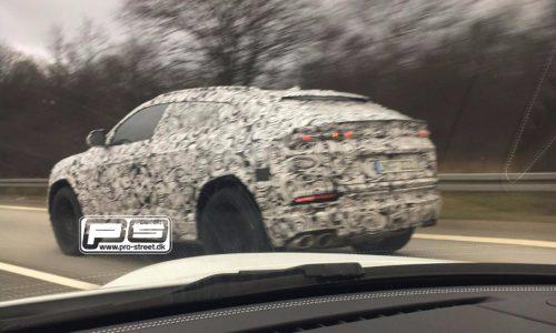 Lamborghini Urus prototype spotted with production body