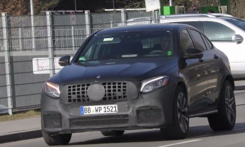 Mercedes-AMG GLC 63 Coupe spotted, to get 4.0TT V8 (video)