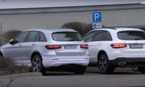 Mercedes-Benz GLC EV spotted, first EQ model (video)