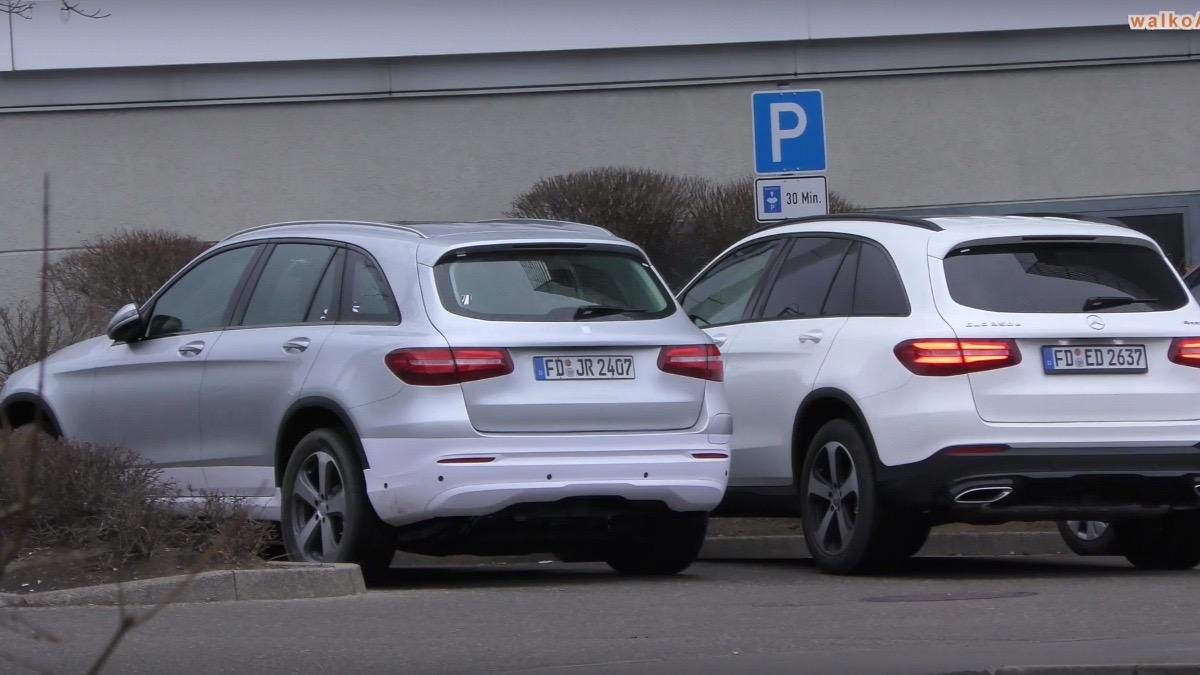 Mercedes Benz Glc Ev Spotted First Eq Model Video