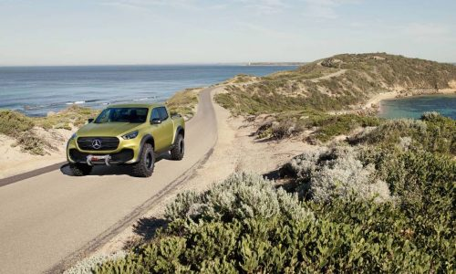 Mercedes-Benz X-Class ute in Australia for promo, dealers briefed