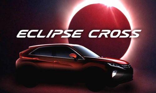Mitsubishi confirms 'Eclipse Cross' as new compact SUV