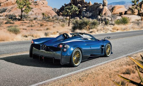 Pagani Huayra Roadster unveiled; lighter, more powerful than coupe