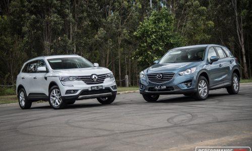 Renault Koleos vs Mazda CX-5: 2WD SUV comparison (video)