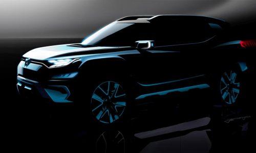 SsangYong XAVL 7-seat SUV concept headed to Geneva