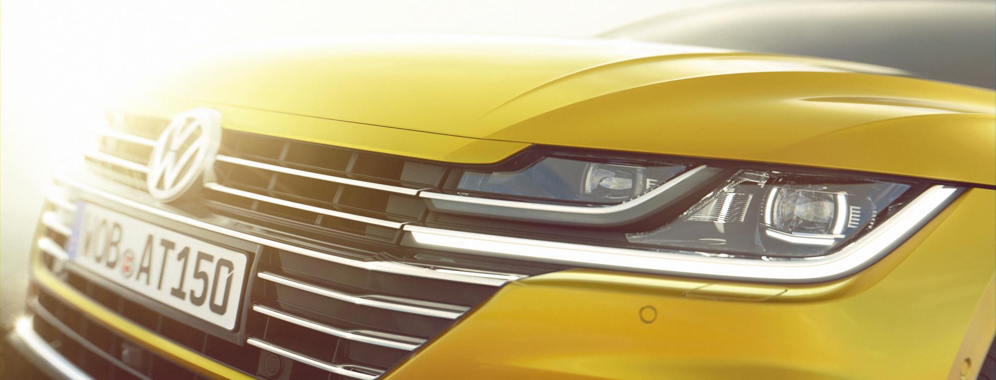Volkswagen Arteon previewed as new Passat CC