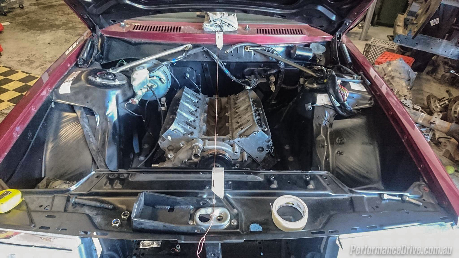 Volvo 240 GL LS1 V8 conversion project: Part 11 - engine