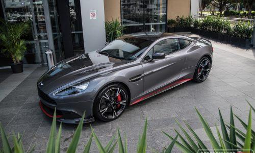 2017 Aston Martin Vanquish S makes Australian debut in Sydney
