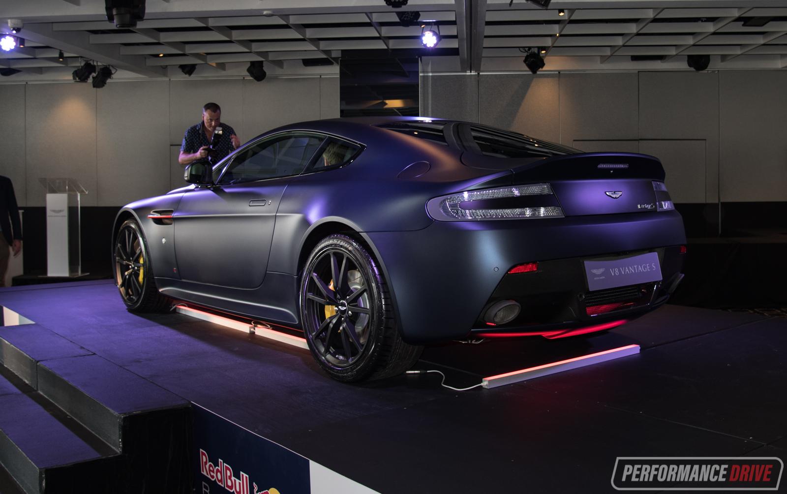 Aston Martin Vantage Red Bull edition debuts in Australia