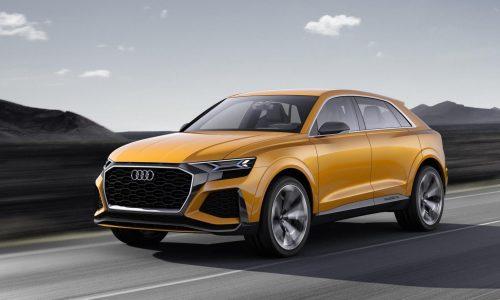 Audi Q8 Sport Concept updated for Geneva motor show