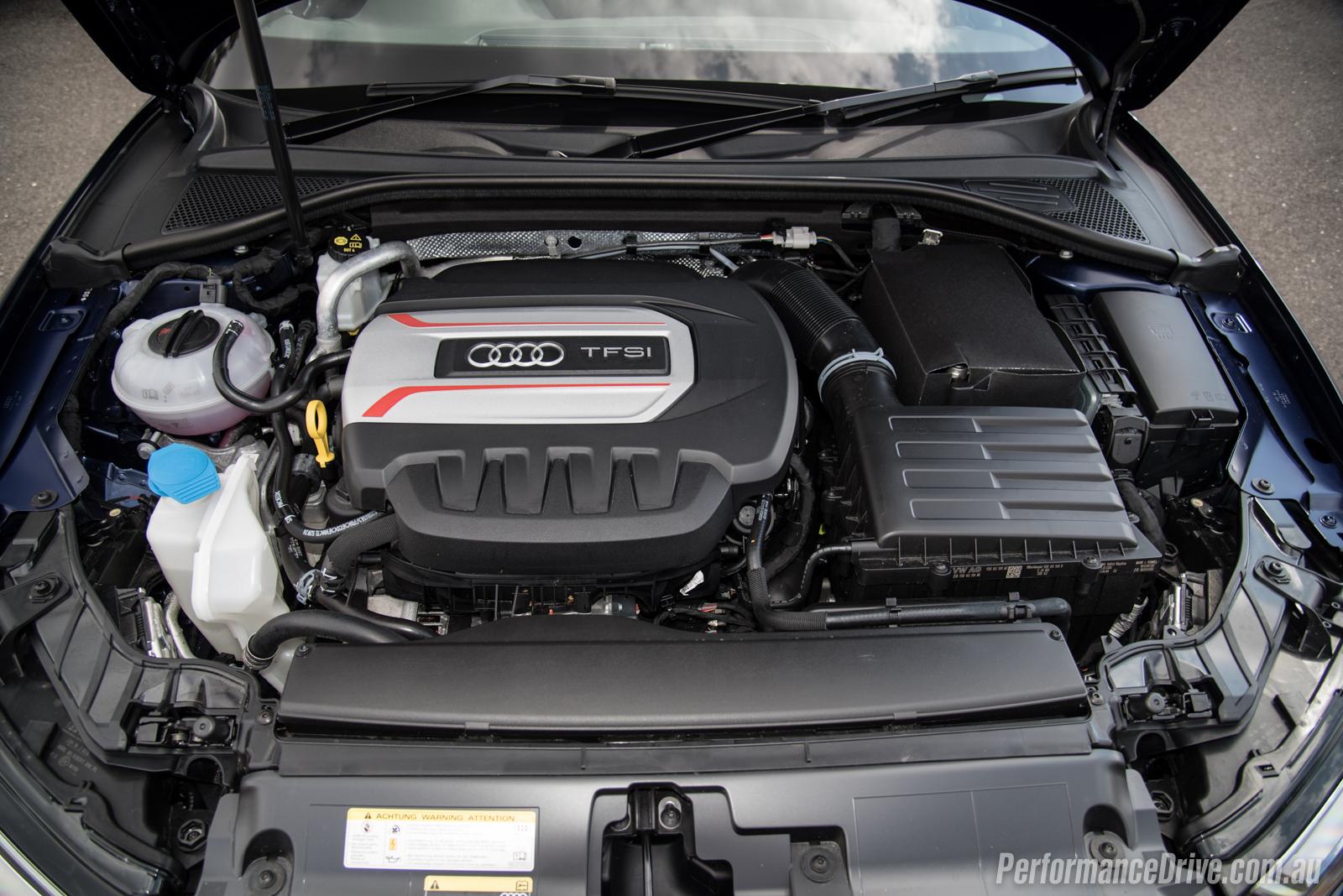 Audi S Sedan Review Video PerformanceDrive - Audi s3 engine