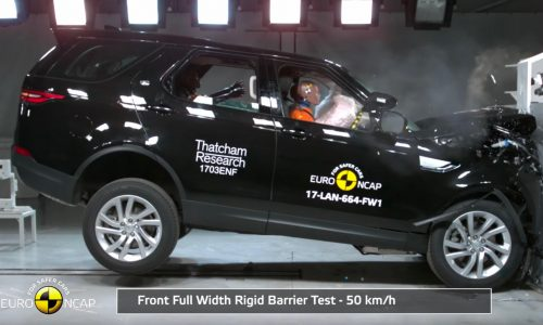 New Toyota C-HR, Land Rover Discovery awarded 5-star ANCAP safety