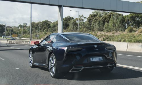 New Lexus LC 500 spotted on the streets in Australia
