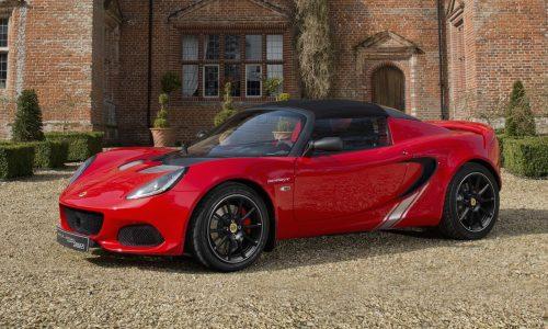 Lotus announces Elise Sprint lightweight edition, drops 41kg