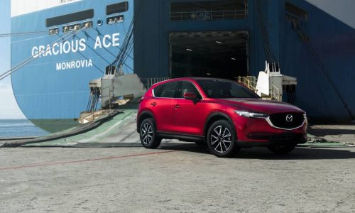 First 2017 Mazda CX-5 models touch down in Australia