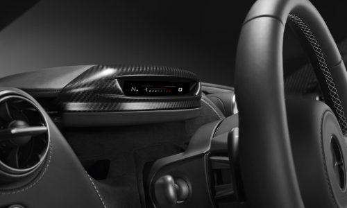 Upcoming McLaren Super Series '720S' gets folding digital instrument display