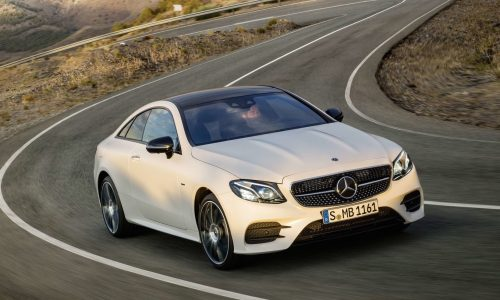 2017 Mercedes-Benz E-Class coupe on sale in Australia from $96,000