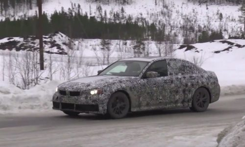 2019 BMW 3 Series 'G20' prototype spotted, switches to CLAR (video)