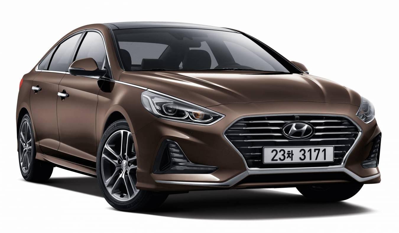 2018 Hyundai Sonata Unveiled With Sharp New Look Sporty Turbo Confirmed Performancedrive