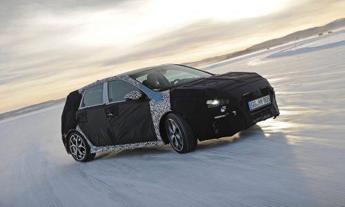Hyundai i30 N hot hatch development hits the snow (video)