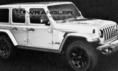 2018 Jeep Wrangler revealed in leaked images?
