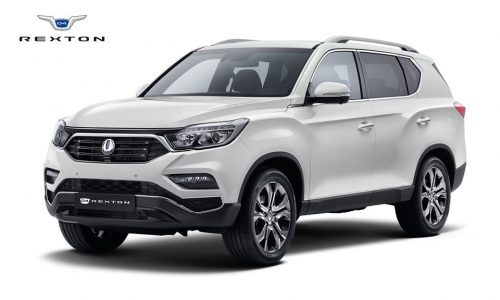 2018 SsangYong Rexton revealed as all-new large SUV