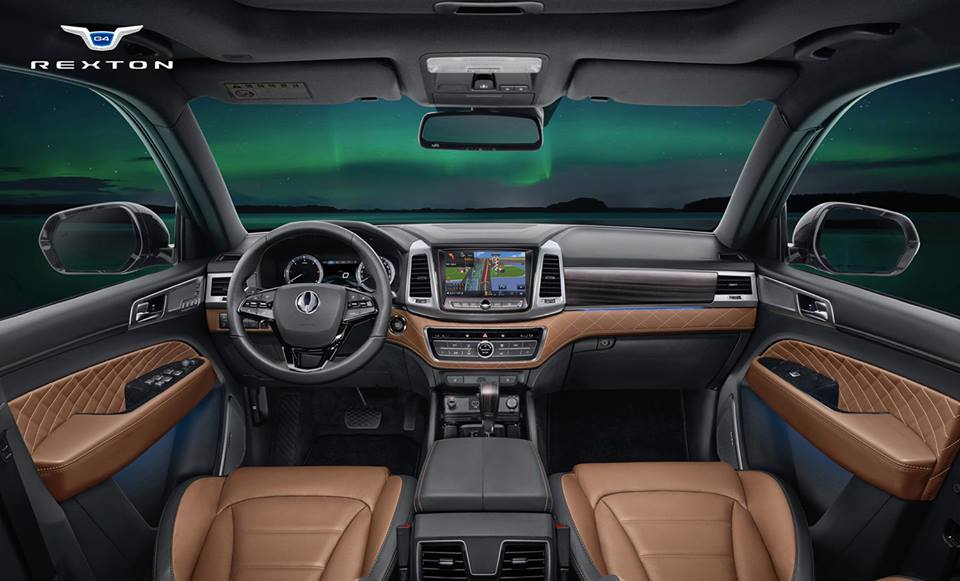 ssangyong rexton revealed    large suv performancedrive