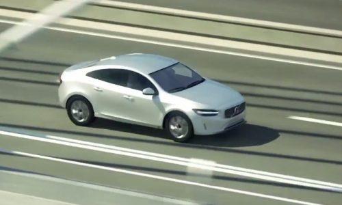 Volvo S40 small sedan design revealed via safety video?