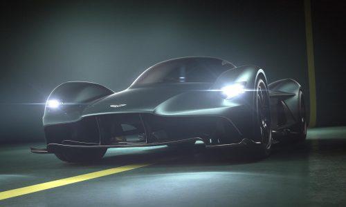 Aston Martin Valkyrie confirmed as AM-RB 001 hypercar