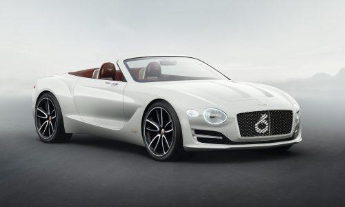 Bentley EXP 12 Speed 6e convertible debuts at Geneva show