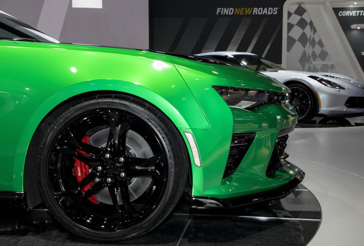 Chevrolet Camaro Track Concept Breaks Cover At Geneva
