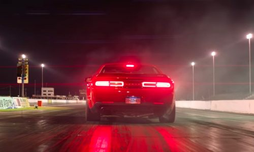 Dodge Challenger SRT Demon teaser #10: torque reserve launch function (video)