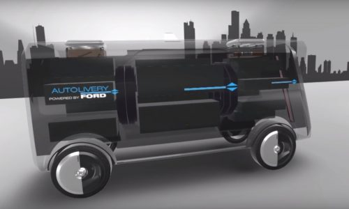 Ford envisions Autolivery autonomous delivery service (video)