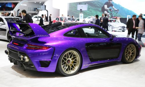 Gemballa Avalanche, Mistrale, Mirage GT wow at Geneva show