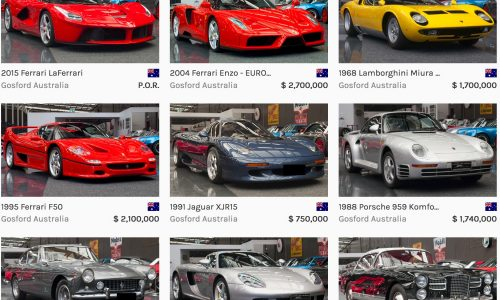 Gosford Museum selling ultra-exclusive supercars, including the only LaFerrari in Australia?