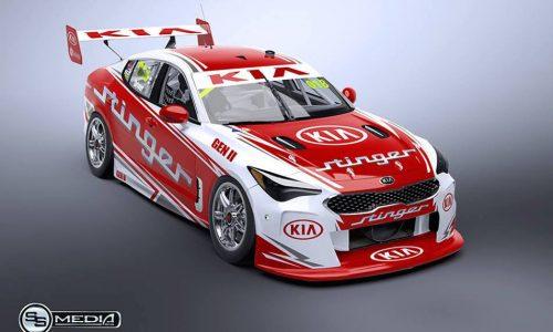Potential Kia Stinger Australian Supercars racer rendered