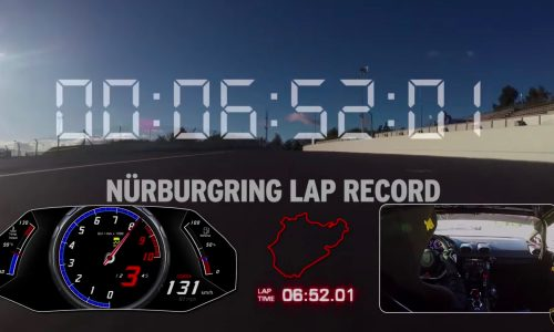 Lamborghini Huracan Performante sets Nurburgring lap record (video)