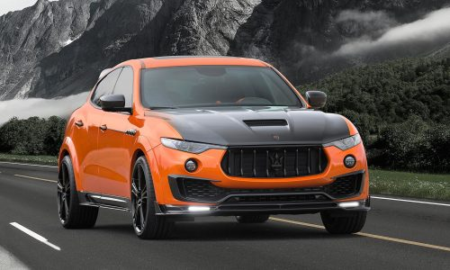 Mansory shows off latest tuning packages at Geneva motor show
