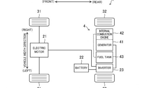 Mazda hybrid patents surface, rotary engine to be used?