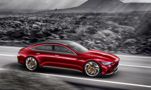 Mercedes-AMG GT Concept revealed, previews upcoming four-door coupe